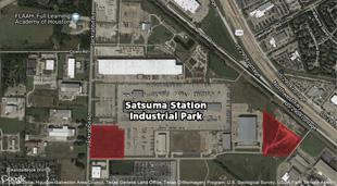 Satsuma_station_aerial_site